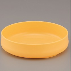 Children's dinner plate Yellow 1174