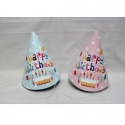 Paper Hat 3pcs Birthday
