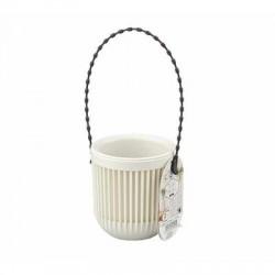 Hanging pot mini white