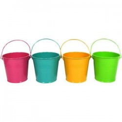 Steel bucket color
