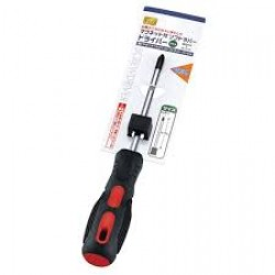 Soft rubber driver plus with magnet 4 inches