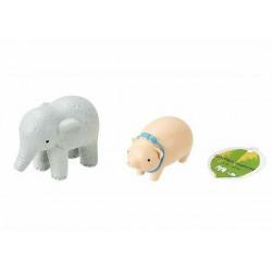 Garden mascot elephant, piglet