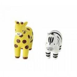 Garden mascot giraffe/zebra