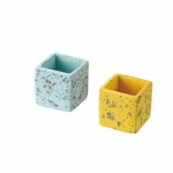 Cement pot Small Square