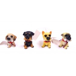 Animal Figurine Miniature Dog
