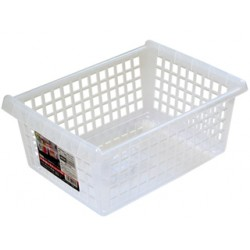 Arrange Clear basket wide no handle 243x343x142Hmm