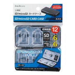 L-8826/BK SD/micro SD card case BK 4973430003469