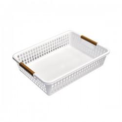Arrange White basket bulky 355x260x84Hmm