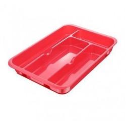 Cutlery Organizer Tray -Pink