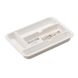 Cutlery Organizer Tray -White