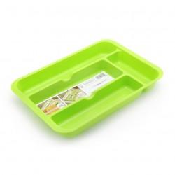 Cutlery Organizer Tray -Neon Green