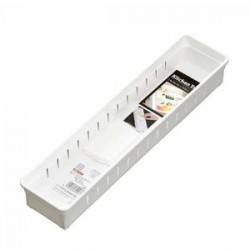 Kitchenware Organizer Slim tray -White