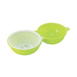Bowl and Basket -Neon Green