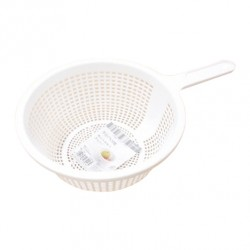 Plastic Strainer 19cm - White