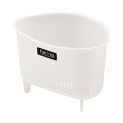 Sink Corner Waste basket - Stylish -White