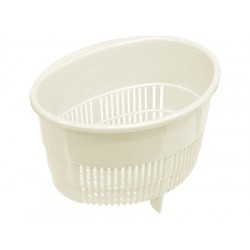 Sink Corner Dust basket  -White