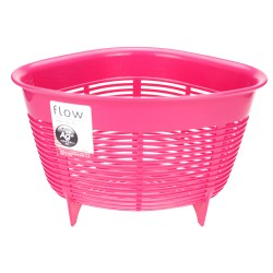 Sink corner waste basket -Pink 0650