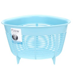 Sink corner waste basket -Blue 0650