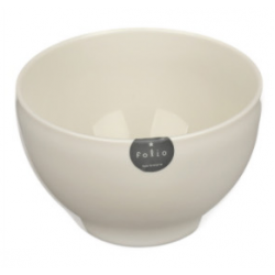 Plastic Bowl 13cm - White