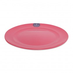 Plastic Plate 22cm - Pink