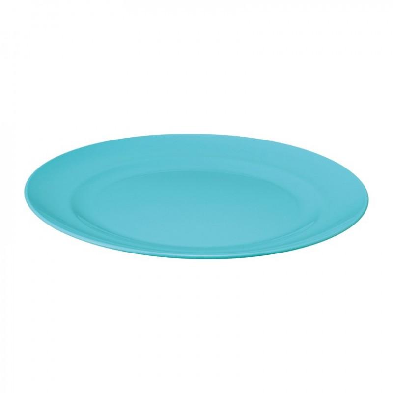 Plastic Plate 22cm - Blue