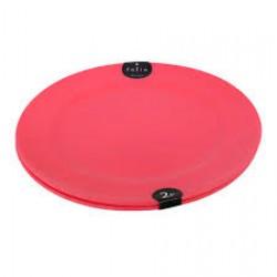 Plastic Plate Set 2P 15cm - Pink