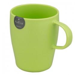 Plastic Mug with handle 340ml - Green