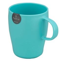 Plastic Mug with handle 340ml - Blue