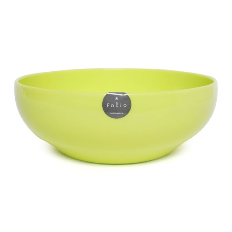 Plastic Bowl 16cm - Green