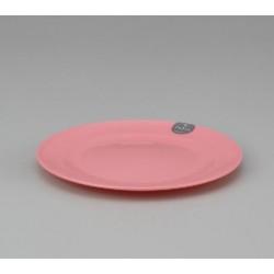 Plastic Plate 18cm - Pink