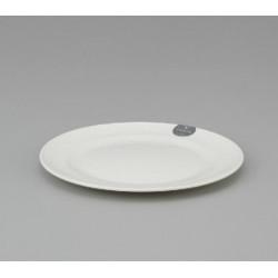 Plastic Plate 18cm - White