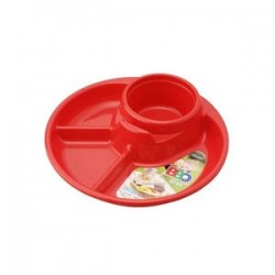 Barbecue dish red