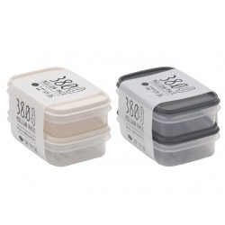Container pack mini 2pcs earth color