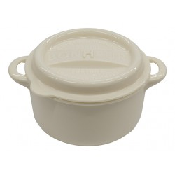 Lunch pot Large cream white 310ml