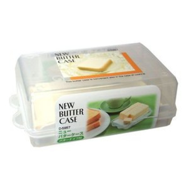 Butter case with butter knife