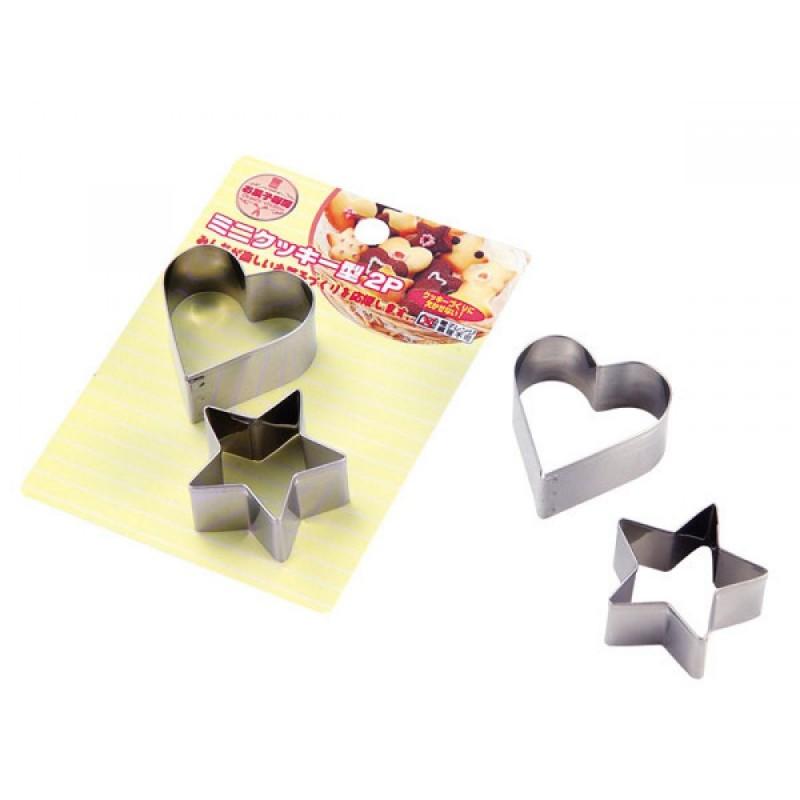 Mini Cookie Mold Heart & Star