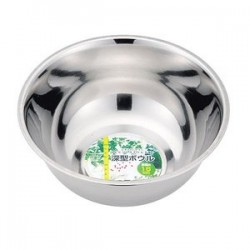 Deep bowl molded ball stainless steel