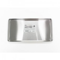 Cooking tray shallow type long type stainless steel