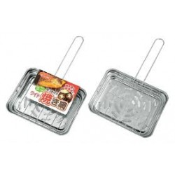 Mini grill with handle wide