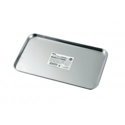Stainless steel shallow cooking tray middle type