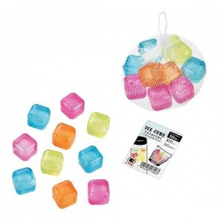 Ice cube 10pcs colorful