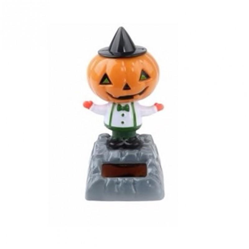 Halloween Dancing Solar Toy Pumpkin
