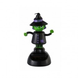 Halloween Dancing Solar Toy Witch