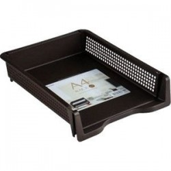A4 size rack brown