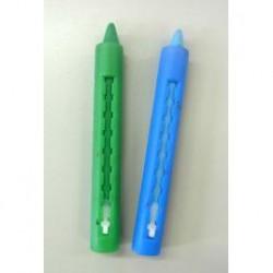 Face color paint 2pcs Blue & Green
