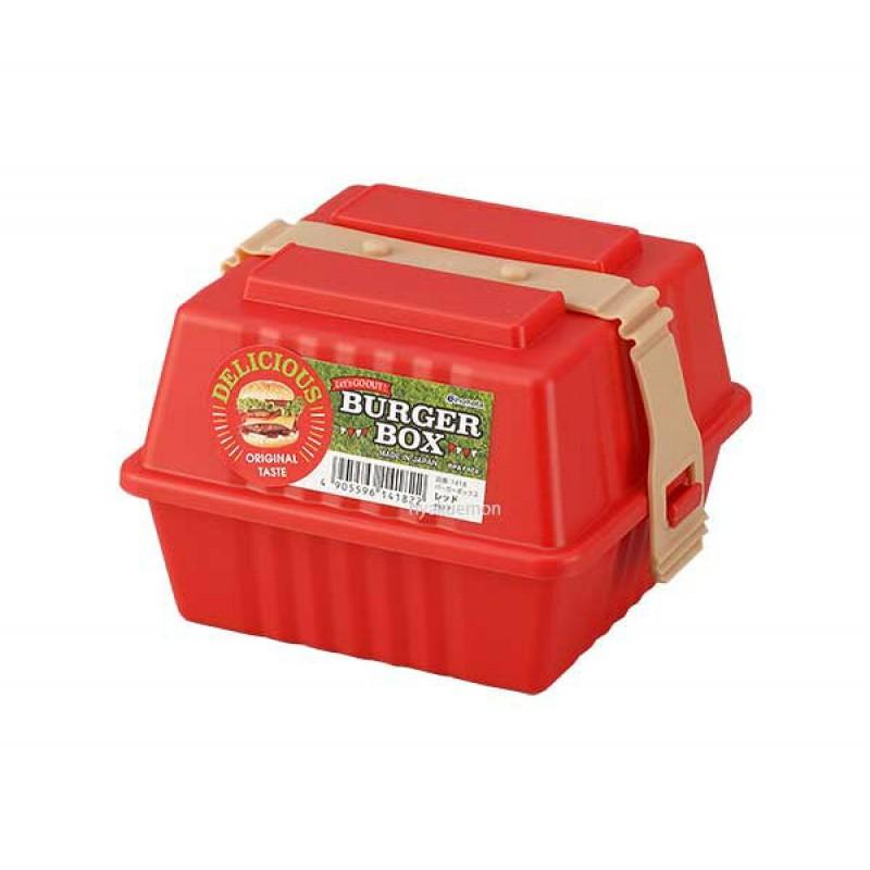 Burger Box Red