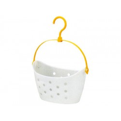 Pinch Basket Wide White