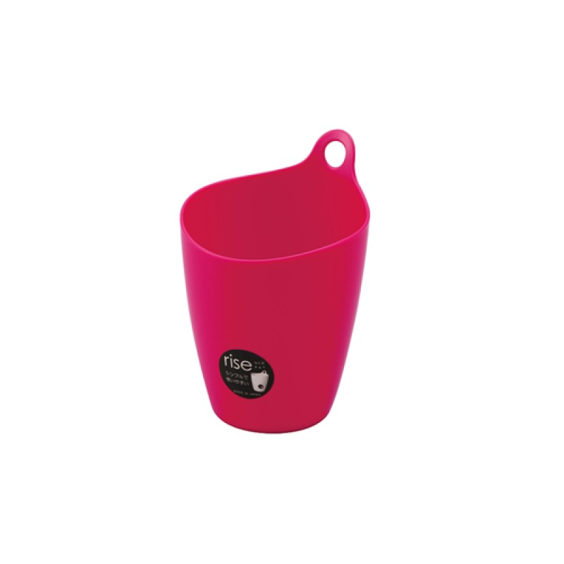 Hanging mini bucket holder Pink