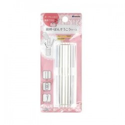 Cotton swabs case clear