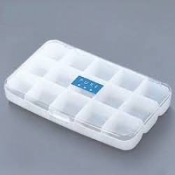 Pill case clear